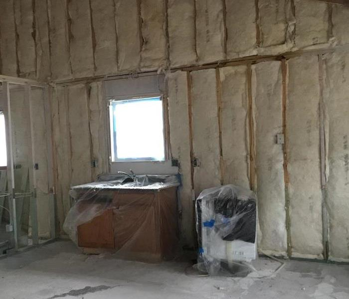 Demolition of Kitchen walls and ceiling
