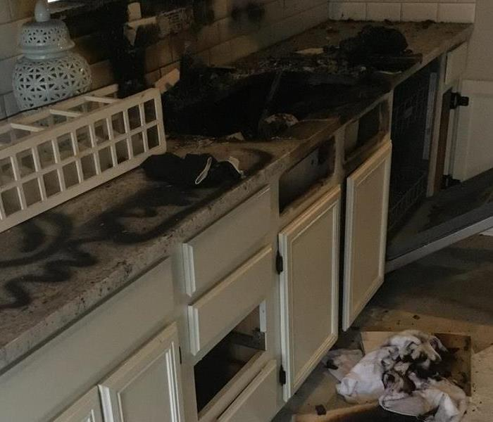 Kitchen Fire in residential home