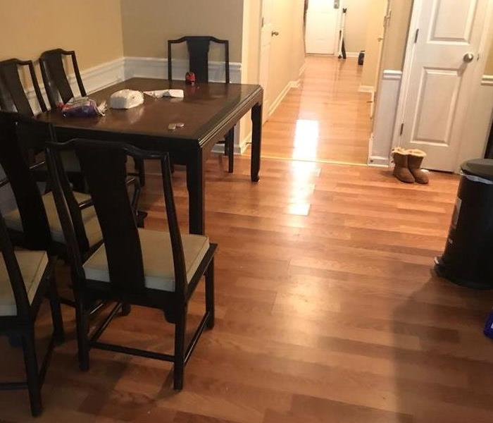 Damaged Dining Room floor
