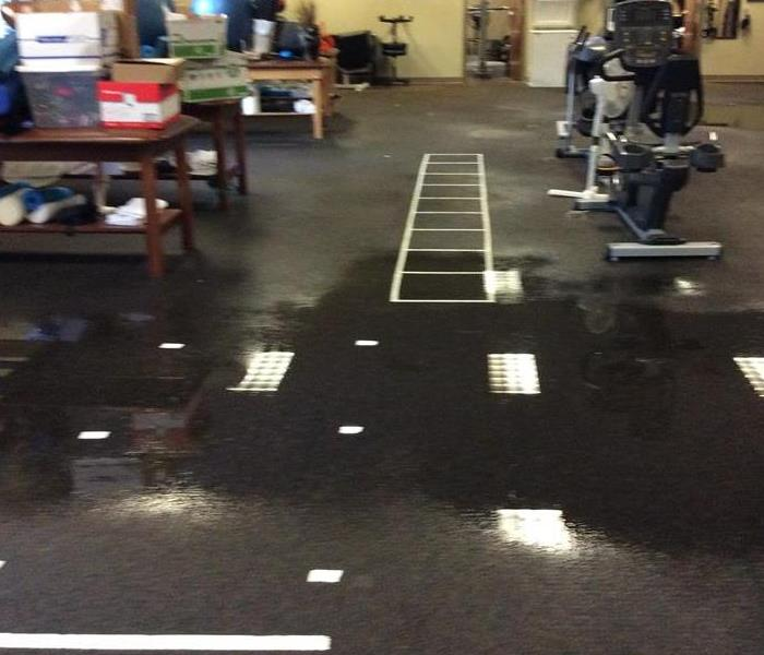 Rehabilitation Room floods in Commercial Building